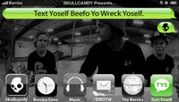 TEXT YOSELF BEEFO YO WRECK YOSELF -- with Matt Miller & The Brunner Twins