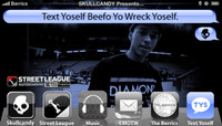 TEXT YOSELF BEEFO YO WRECK YOSELF -- With Nyjah Huston at Street League
