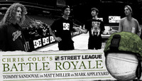 BATTLE ROYALE -- TOMMY SANDOVAL vs MATT MILLER vs MARK APPLEYARD