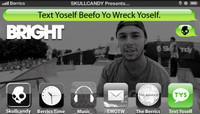 TEXT YOSELF BEEFO YO WRECK YOSELF -- With Jack Curtin At The Bright Tradeshow