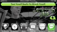 TEXT YOSELF BEEFO YO WRECK YOSELF -- With Alec Majerus At Volcom's Amsterdamn Am
