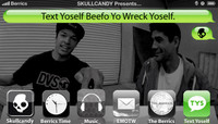 TEXT YOSELF BEEFO YO WRECK YOSELF -- With Luis Tolentino & Enrique Lorenzo