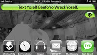 TEXT YOSELF BEEFO YO WRECK YOSELF -- With Rodrigo Petersen