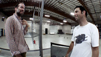 JASON LEE DECIDED TO COME TO THE PARK -- And Do A Couple Of Tricks