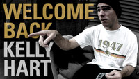 WELCOME BACK KELLY HART