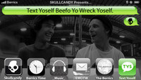 TEXT YOSELF BEEFO YO WRECK YOSELF -- With Issey Yumiba & Magnus Hanson