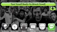 TEXT YOSELF BEEFO YO WRECK YOSELF -- At Mikey Taylor's Pizza Party