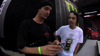 TEXT YOSELF BEEFO YO WRECK YOSELF -- With Luan Oliveira and Matt Miller At Street League New Jersey