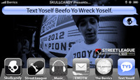 TEXT YOSELF BEEFO YO WRECK YOSELF -- With Chaz Ortiz At The Street League 2012 Championship