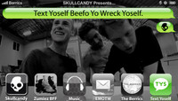 TEXT YOSELF BEEFO YO WRECK YOSELF -- With Zumiez Best Foot Forward Winners