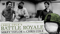 BATTLE ROYALE -- MIKEY TAYLOR vs CHRIS COLE