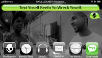 TEXT YOSELF BEEFO YO WRECK YOSELF -- With Ishod Wair & Chima Ferguson