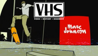 VHS - MARC JOHNSON -- Girl Skateboards - Yeah Right - 2003