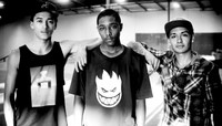 Two Baby Millionaires and Dominick S.K.A.T.E. the 5's  -- Nyjah Huston, Dominick Walker & Chaz Ortiz