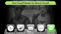 TEXT YOSELF BEEFO YO WRECK YOSELF -- With Darrell Stanton & Lewis Marnell