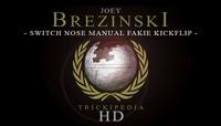 TRICKIPEDIA -- Switch Nosemanual Fakie Kickflip