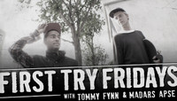 First Try Fridays -- Tommy Fynn & Madars Apse at the DC Embassy