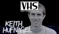 VHS - KEITH HUFNAGEL -- Real Skateboards - Real to Reel - 2001