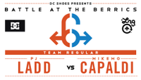 BATB 6 SEMIFINALS -- PJ Ladd vs MikeMo Capaldi