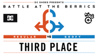 BATB 6 THIRD PLACE BATTLE -- MikeMo Capaldi vs Shane O'Neill