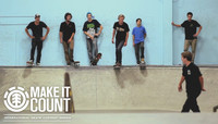 MAKE IT COUNT -- at The Berrics