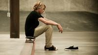 BEHIND THE RUN -- Curren Caples