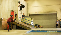 BACKSIDE FLIPS ON LOCK -- With Chaz Ortiz