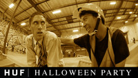 HUF HALLOWEEN PARTY -- at The Berrics