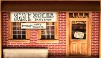 SKATE SOCKS --  Happy Ollidays