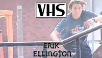 VHS - ERIK ELLINGTON -- Zero - Misled Youth - 1999