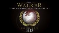 TRICKIPEDIA -- Nollie Frontside 180 Kickflip