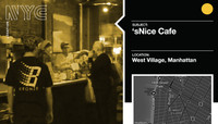 SNICE CAFE -- West Village, Manhattan