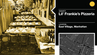 LIL' FRANKIE'S PIZZERIA -- East Village, Manhattan