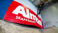 ALMOST SKATEBOARDS 10 YEAR PARTY -- at The Berrics