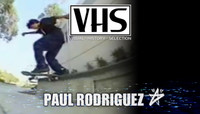 VHS - PAUL RODRIGUEZ -- City Stars - Street Cinema - 2001