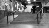 SWITCH HEELFLIPS ON LOCK -- with Trevor Colden