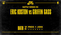 BATTLE WEIGH IN -- Eric Koston vs. Griffin Gass