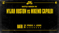 BATTLE WEIGH IN -- Nyjah Huston vs. MikeMo Capaldi