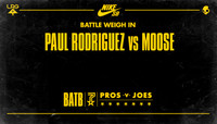 BATTLE WEIGH IN -- Paul Rodriguez vs Moose