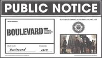 PUBLIC NOTICE -- Boulevard