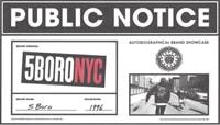 PUBLIC NOTICE -- 5boro