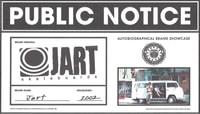 PUBLIC NOTICE -- Jart