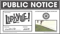 PUBLIC NOTICE -- Lurkville