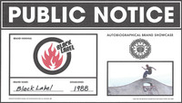 PUBLIC NOTICE -- Black Label