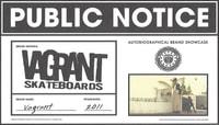 PUBLIC NOTICE -- Vagrant