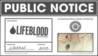 PUBLIC NOTICE -- LifeBlood