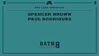PRE-GAME INTERVIEW -- Spencer Brown vs. Paul Rodriguez