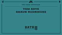 PRE-GAME INTERVIEW -- Tom Asta vs. Shaun Rodriguez