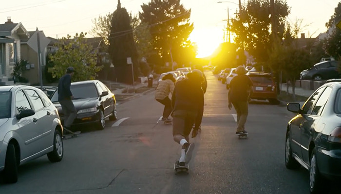 LEVI'S SKATEBOARDING IN OAKLAND - THE STREETS