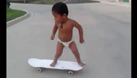 BABY ON BOARD! -- Is This The Next Nyjah?